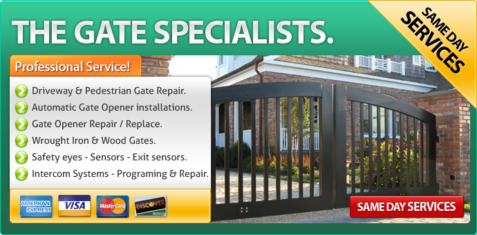 Gate repair Fullerton CA